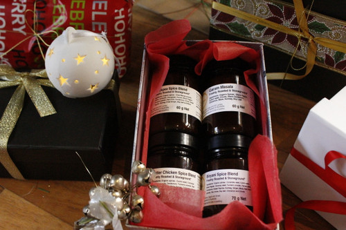 Indian Spice Blends Gift Box