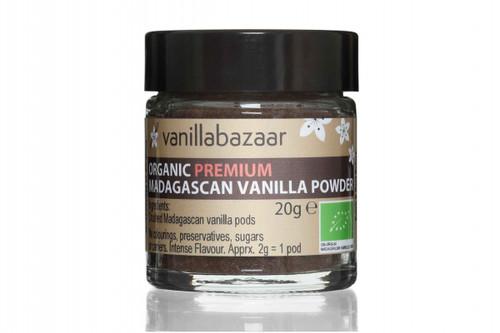 Organic Madagascan vanilla powder
