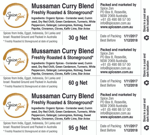 Thai Mussaman Curry Spice Blend