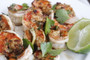Barbecued Prawns with Garlic, Lime & Coriander