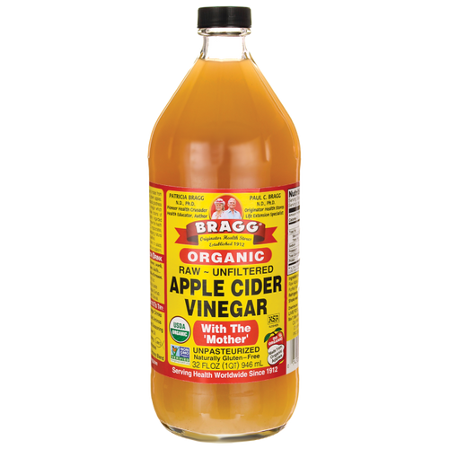 Apple Cider Vinegar Organic Raw Unfiltered 32 oz.
