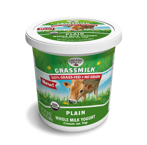 Organic Valley Grassmilk Plain Yogurt, 24 oz.