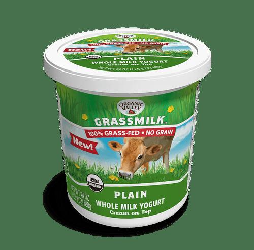 Organic Valley Grassmilk Plain Yogurt, 24 oz.