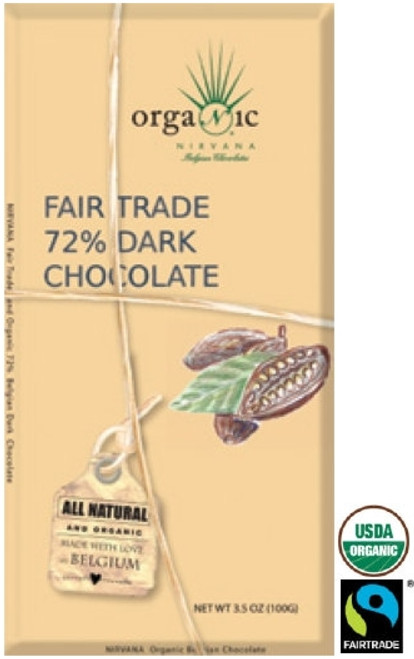 Organic 72% Dark Chocolate