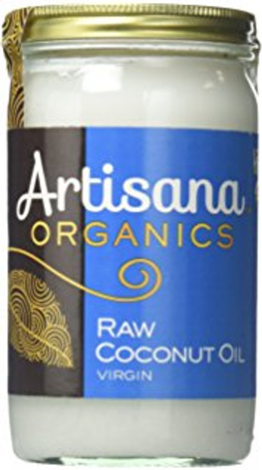 Coconut Oil, Organic Raw 15 oz