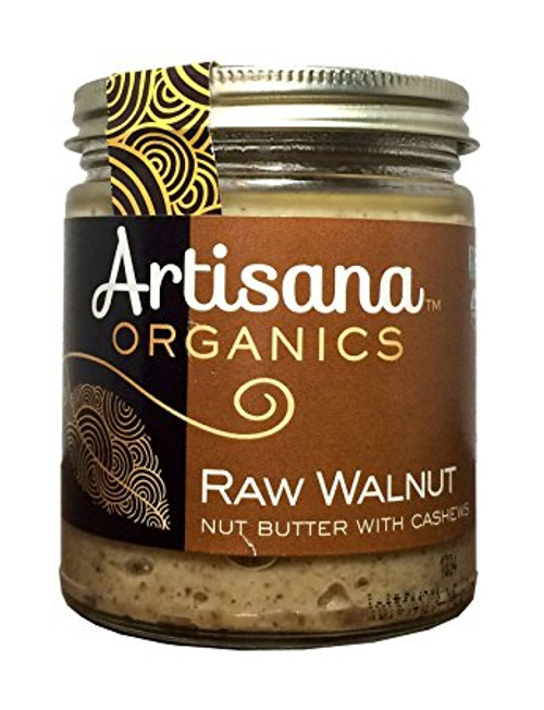 Walnut Butter Organic Raw, 8 oz
