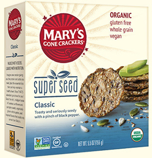 Super Seed Crackers, by the box