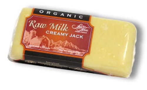 Organic Raw Creamy Jack Cheese, 8 oz