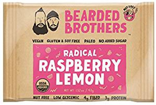 Radical Raspberry Lemon Energy Bar