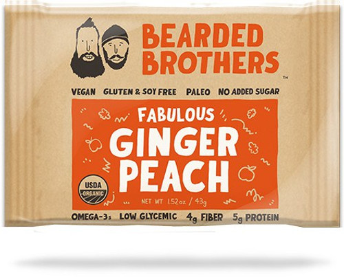 Fabulous Ginger Peach Energy Bar