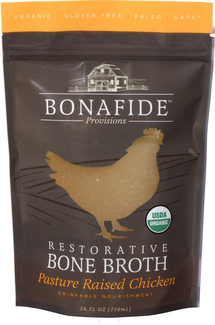 Chicken Bone Broth, 24 fl oz (not for dogs/cats)