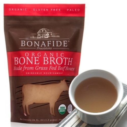 Beef Bone Broth, 24 fl oz (not for dogs/cats)