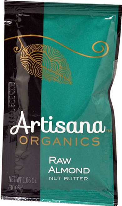 Almond Butter, Raw Organic, Squeeze pack