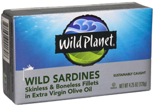 Wild Sardines Skinless Bonless in Organic EVOO
