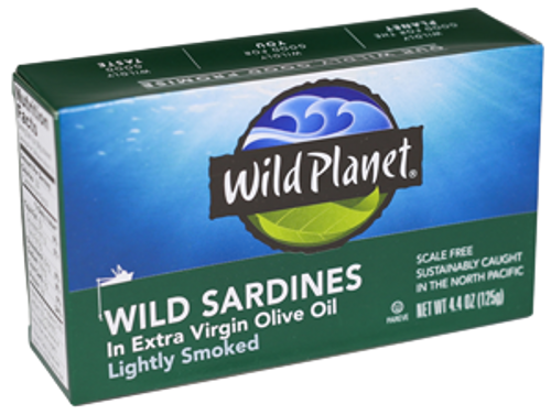Wild Sardines in Organic EVOO