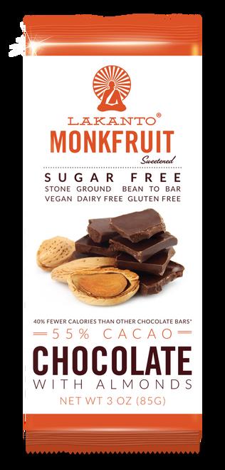 Dark Chocolate w/ Almonds Oragnic Low-Glycemic