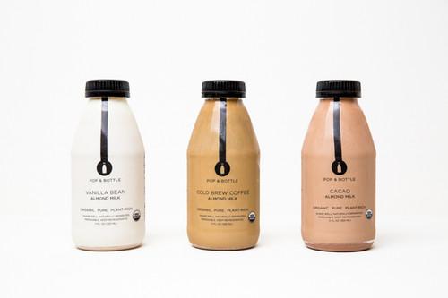 Pop & Bottle Cacao Almond Milk