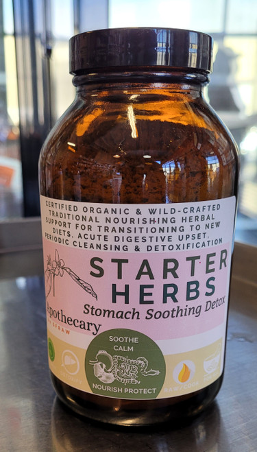 SFRAW Starter's Blend: Stomach Soothing Detox Herbs
