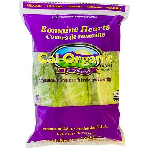 Greens ROMAINE HEARTS, by the pack