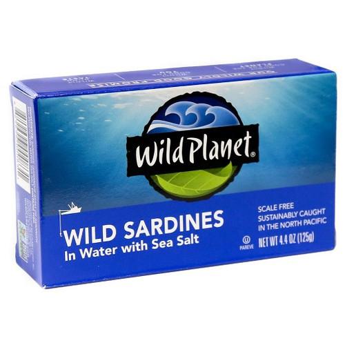 Wild Sardines in Spring Water
