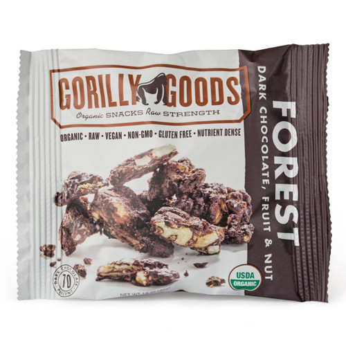 FOREST DARK CHOCOLATE/FRUIT/NUT snack, by the pack
