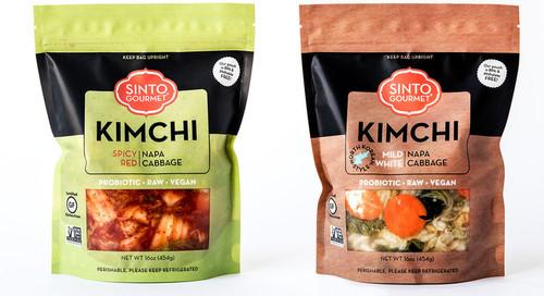 Mild Napa Cabbage Kimchi