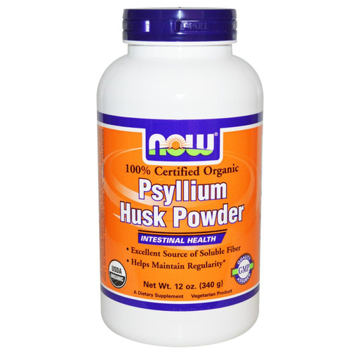 Psyllium Husk Powder Organic, 24 oz