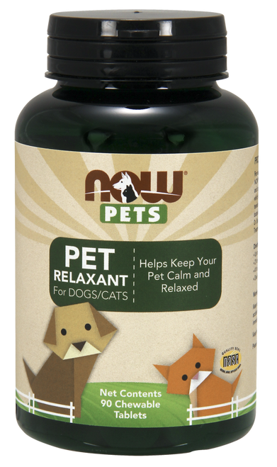 NOW Pets Relaxant 90 tabs