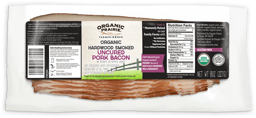 Bacon, Smoked, Uncured, Gluten-Free, by the pack