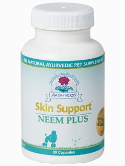 Skin Support Neem Plus Vet 90 caps