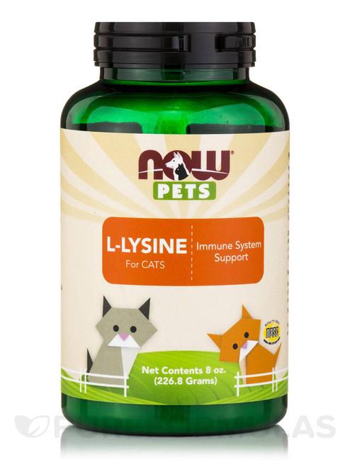 Pets L-Lysine Powder for Cats, 8 oz.