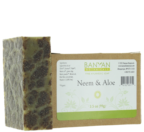 Neem Aloe Soap, 3.5 oz.