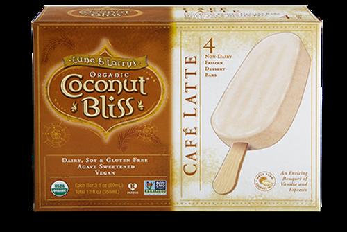 Coconut Bliss Café Latte Bars, by the box