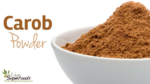 Carob Powder Organic Raw by the lb