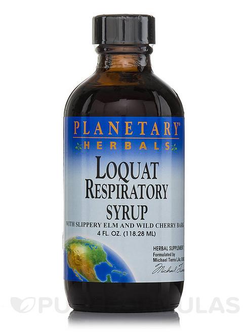 Loquat Respiratory Syrup 4 oz.