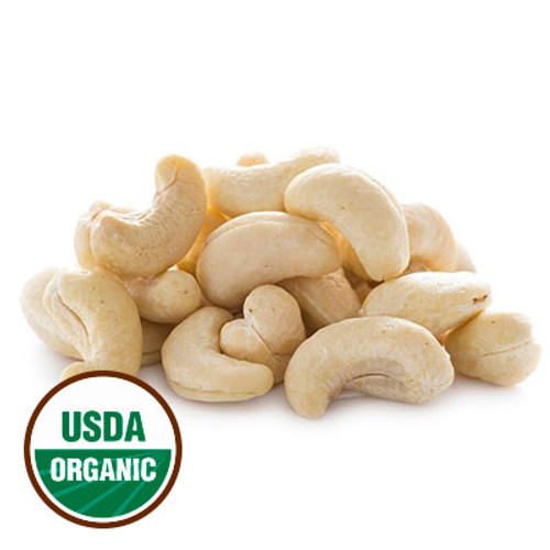 Cashews Organic Raw, BULK
