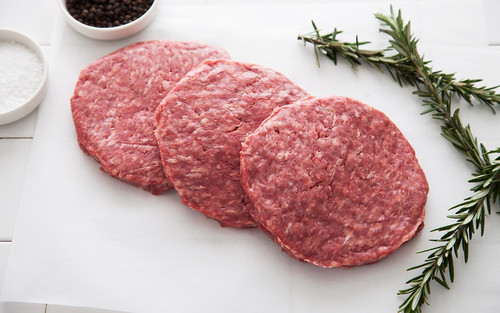 BNF Beef Ground Patties, various sizes