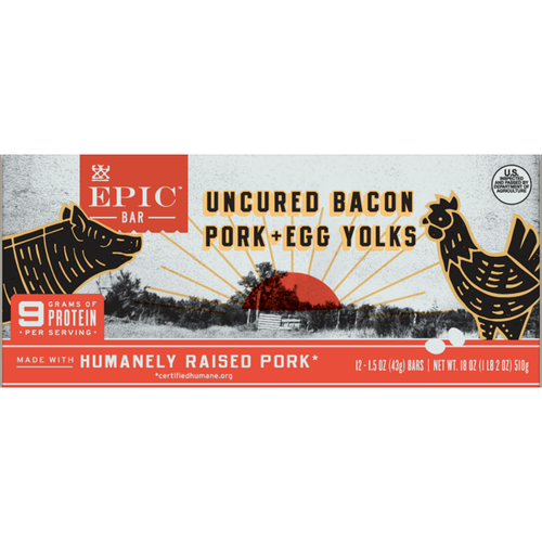 EPIC Bacon Egg Yolk Bar