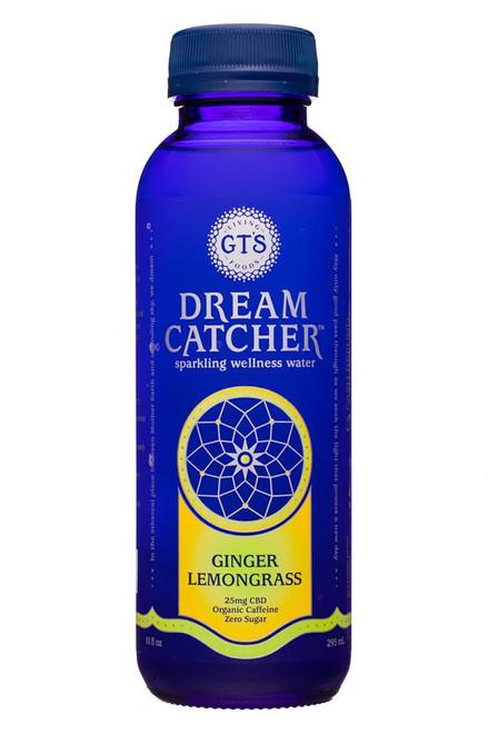 GTS Sparkling Wellness Water Lemongrass Ginger