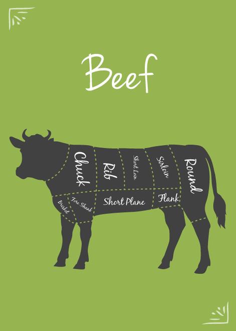 BNF Beef Trim 75/25 BULK, 45-lb frozen case
