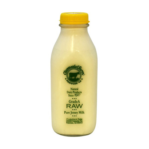 CLARAVALE Raw Whole Milk Qt