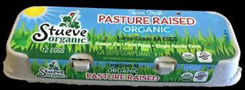 Biodynamic Humane Organic Local Fertile Chicken Eggs AA XLG Brown, by the dozen
