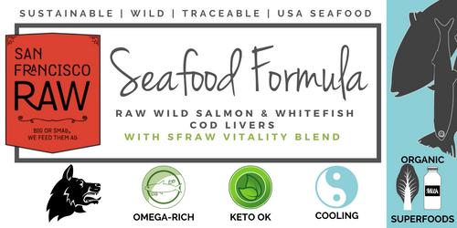 SFR Wild Seafood Formula, 20x13 oz. case