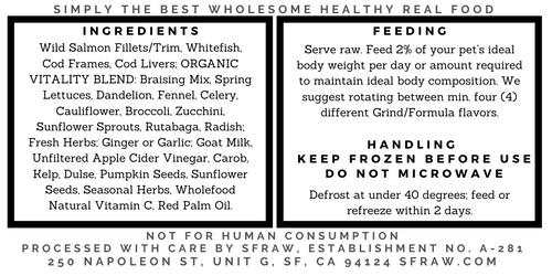 SFR Wild Seafood Formula, 32 oz.