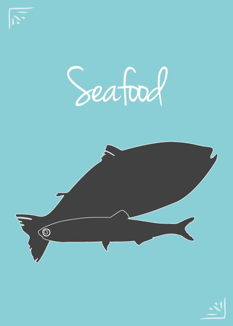 SFR Wild Seafood Formula, 5x4# case