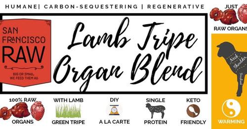 SFR Lamb Offal Tripe Blend 16 oz.