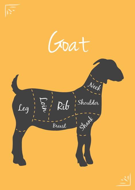 Local Pasture-Raised Goat Bones