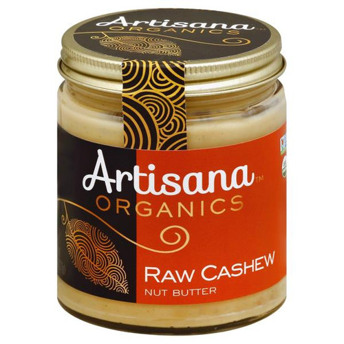 Cashew Butter Organic Raw, 8 oz