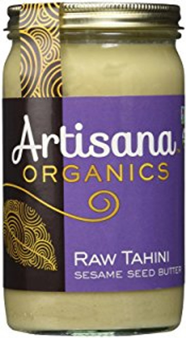 Tahini (Sesame Seed Butter), Organic Raw, 15 oz