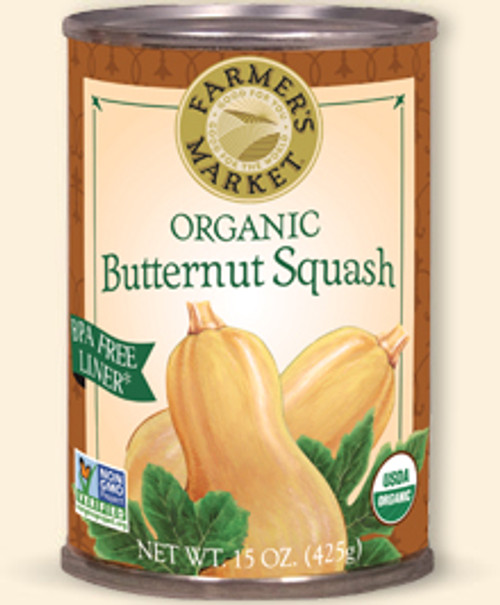 Butternut Squash Puree Organic Canned